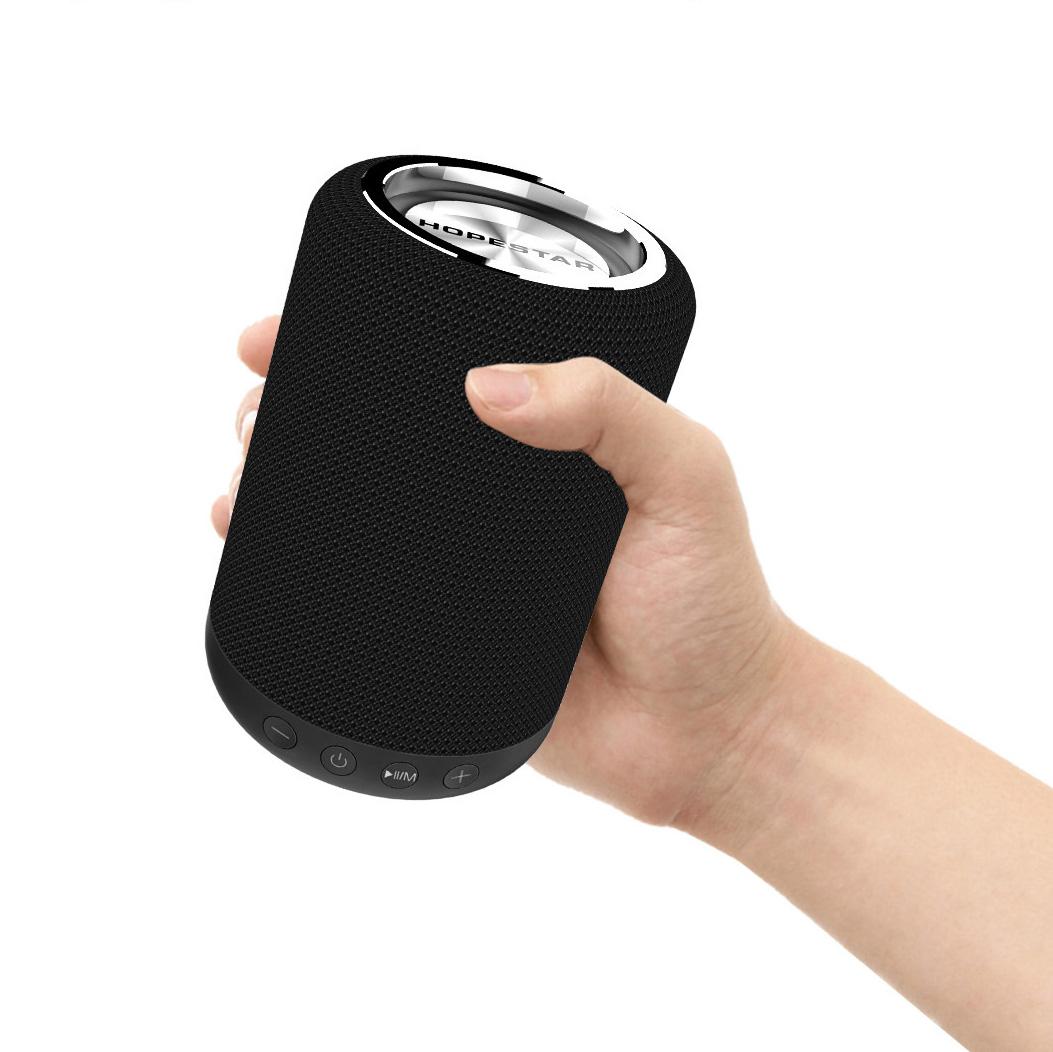 Soomes oem fabric portable wireless auto radio bluetooth speaker