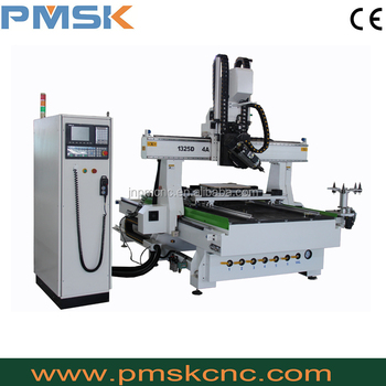 Trade assurance 4 axis cnc router engraver machine helical bearing