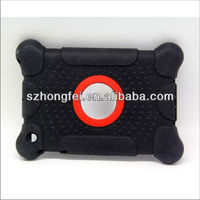 New design! Tailor made shockproof silicone cool case for ipad mini