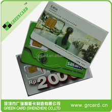 4 color printing GSM Sim Card,t mobile phone sim cards