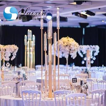 Wedding table decorations tall metal centerpiece stands ZT-323G