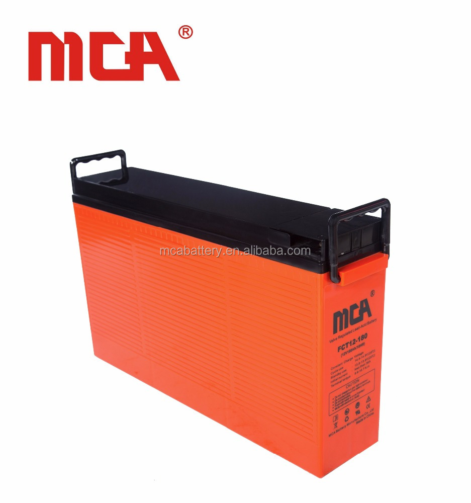 Good price 12v 180ah lead acid china terminal batteries dry battery telecom and ups