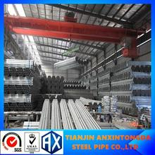 China supplier bs1387 light hot dip galvanized steel pipe with coupling!hot galvanized steel pipe 48.3mm