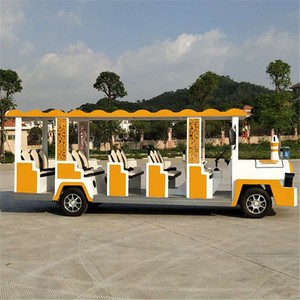 China best price 8 Seats Electric Sightseeing tour patrol car/electric tour bus