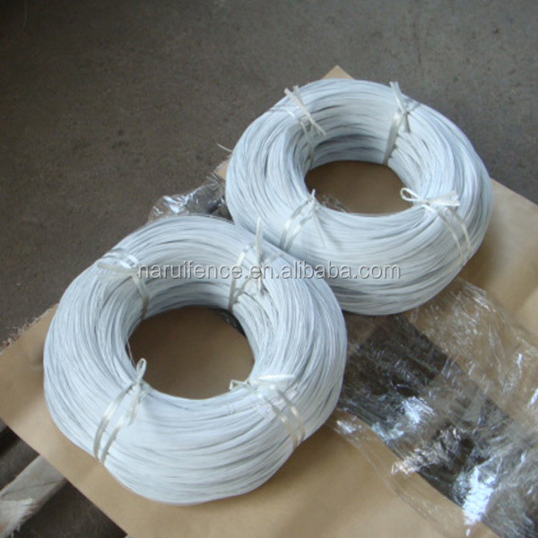 pvc coated binding wire/plastic coated binding iron wire