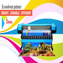 Wide Format Eco Solvent Printer with 1440 dpi, 2 pieces of DX 7 Heads
