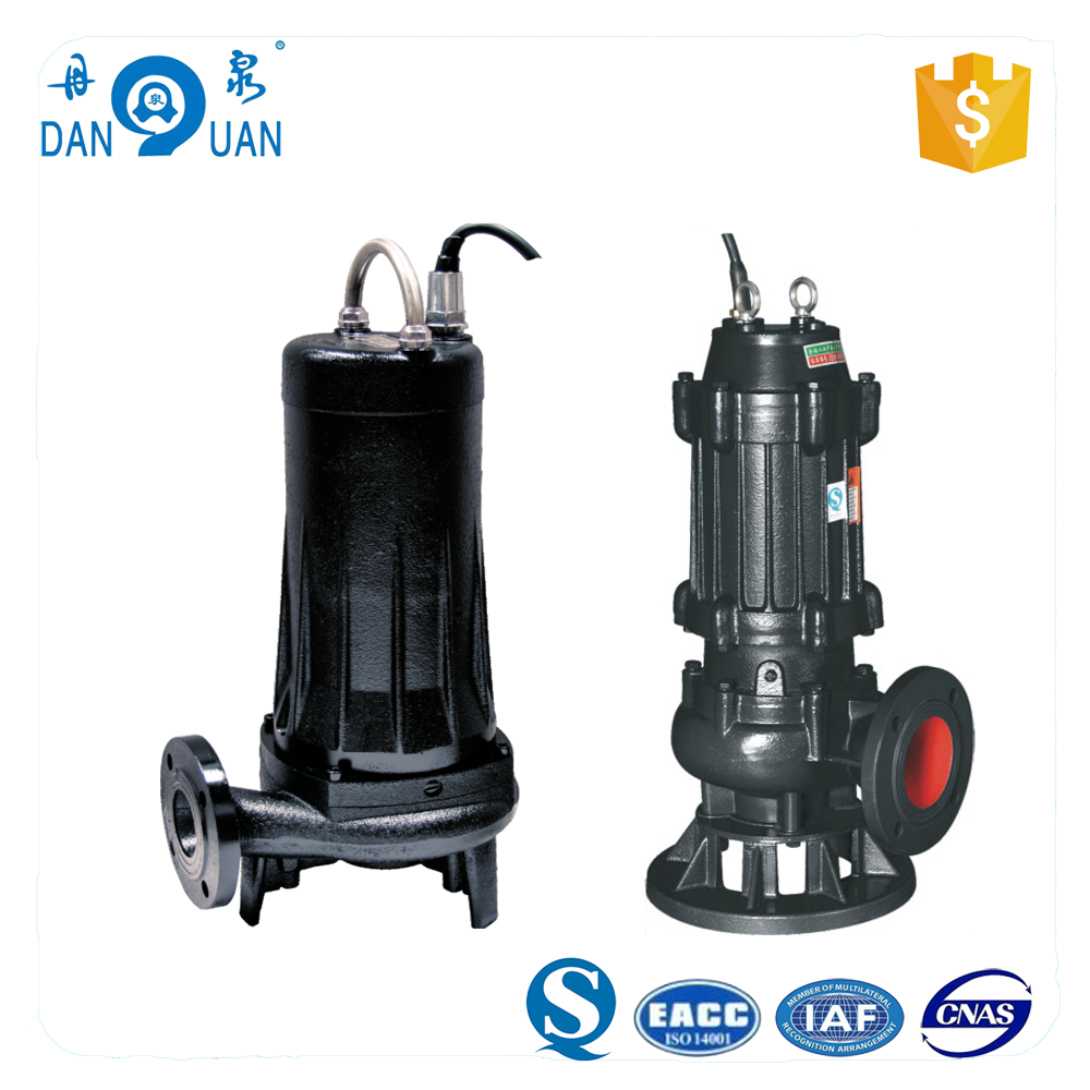 WQ / JYWQ / WQG Series Cast Iron Sewage Submersible Water Pump