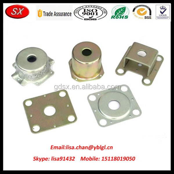 OEM metal round clamp sheet stamping part, car body stamping
