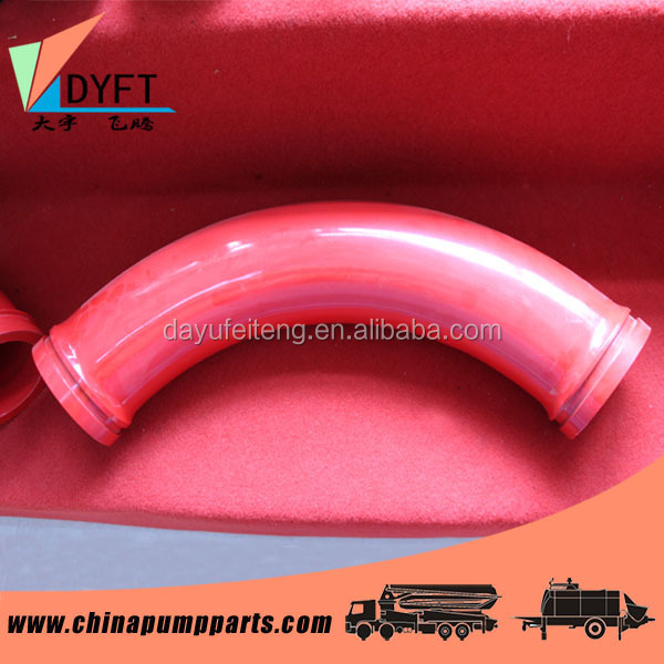 DN125(5 inch) R275 concrete pump elbow, concrete pump spare parts, for concrete pump truck