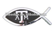 Custom ABS Chrome plated car badge, car emblem, car sticker