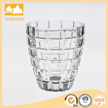 Hand Made Chocolate Style Transparent Candle Glass Cup