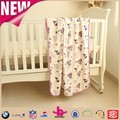 2017 China wholesales, low price direct manufacturer, 2ply plush print fabric, soft touch fabric muslin baby throw blanket soft