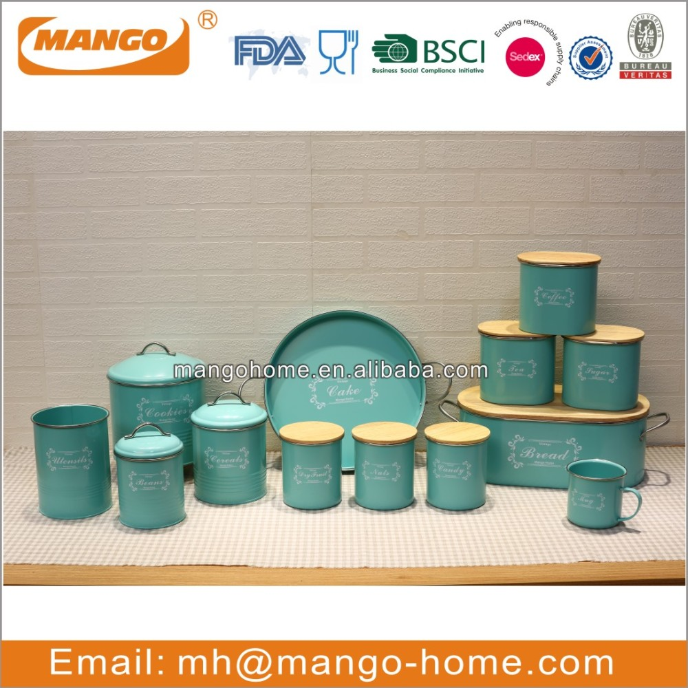 new arrival colorful kitchen canister set view canister