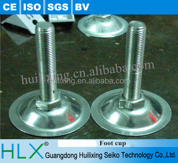 Stainless steel leveling feet/Adjustable table legs/adjustable plastic leveling feet