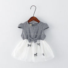latest children clothings baby frocks dresses designs fashion summer kid clothes flower girl dress
