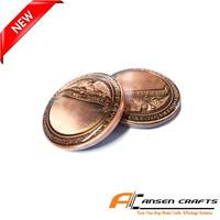 Folk Art Cheap Custom Challenge Coins with Display Case