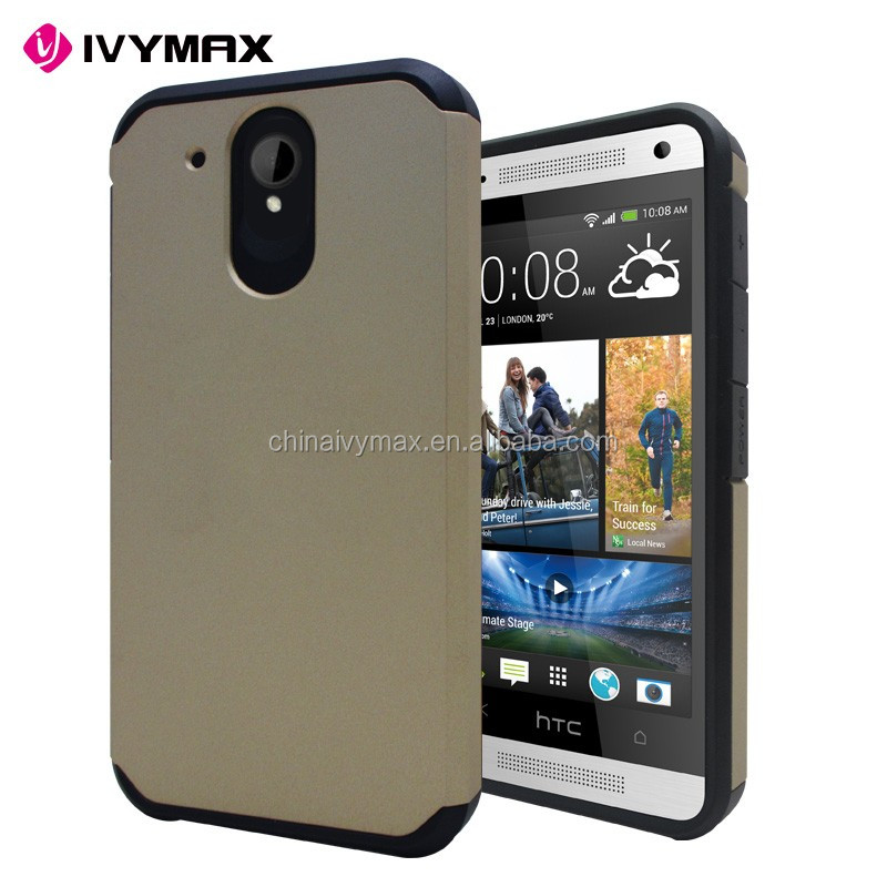 Unbreakable waterproof mobile covers for HTC520 bumper phone case