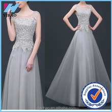 Alibaba Latest Design Princess prom dresses 2015 Top Quality China Yihao Factory Made Lace Wedding Dress