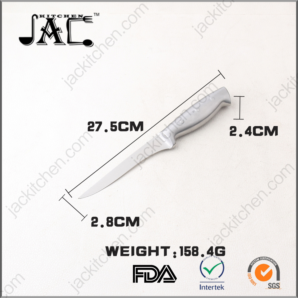 High Quality Full Stainless Steel Forever Sharp Fish Fillet Knife