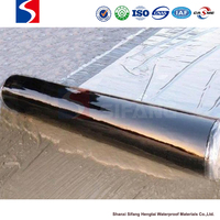 self-adhesive polymer bitumen waterproofing membrane on roofing with easy constuction
