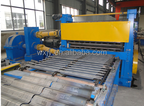 welded H-beam corrugated web roll forming machine