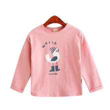 custom brand kids girls plain t shirts in bulk