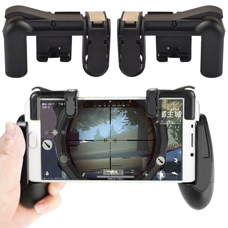 Popular usa market game controller fire shooter button fornite PUBG phone bullet game handle &joystick