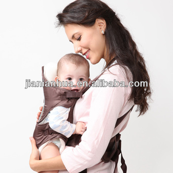 2015 Fashion backpack twin doll buddy buddy baby carrier with cover and bib approved byEN certificate