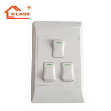 3 Gang 1 Way 3 Gang 2 Way South Africa Wall Light Switches