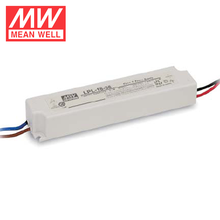 Meanwell 18W AC To DC LED Driver 24V 0.75A Waterproof Class 2 Electronic Driver LPL-18-24