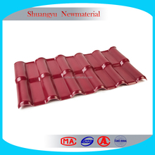 Plastic roof tiles pvc/Plastic roofing sheet for shed