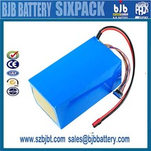 Hot Sale rechargeable 60v 20ah li ion battery pack, lipo battery, for electric vehicles customized