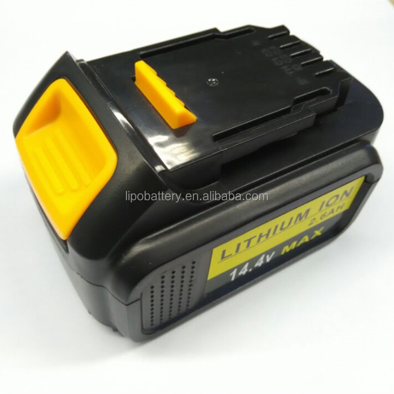 Cordless Drill replacement dewalt battery 14.4v li-ion 4.0Ah battery for DEWALT 652345-01, DC9091, DC9094