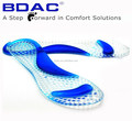 gel invisible insole for sandal as footcare arch support flip flop
