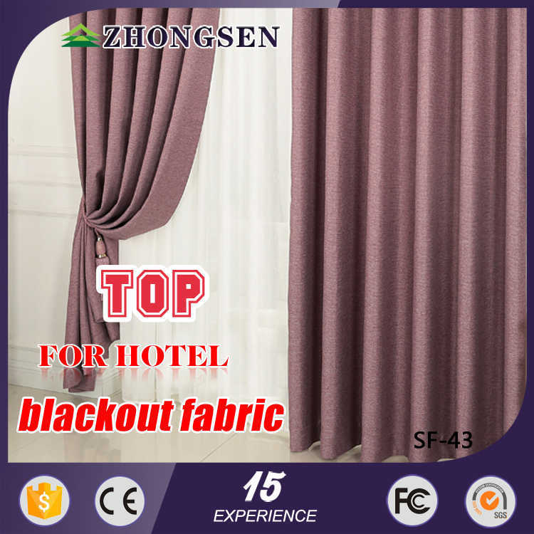 Fashion Design Latest blackout textile printing pinch pleat curtains