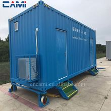Fast assembly advanced chinese 20ft prefabricated container house price