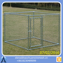Stainless steel animal cage / Aleko New Chain Link Dog Pet System Dog Kennel