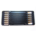 Matte Enamel surface cooking grid stretchable cast iron grid