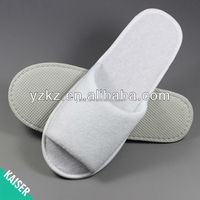 Hot sale latest disposable shower slippers women terry shower slippers