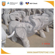 Elephant Granite Sculpture
