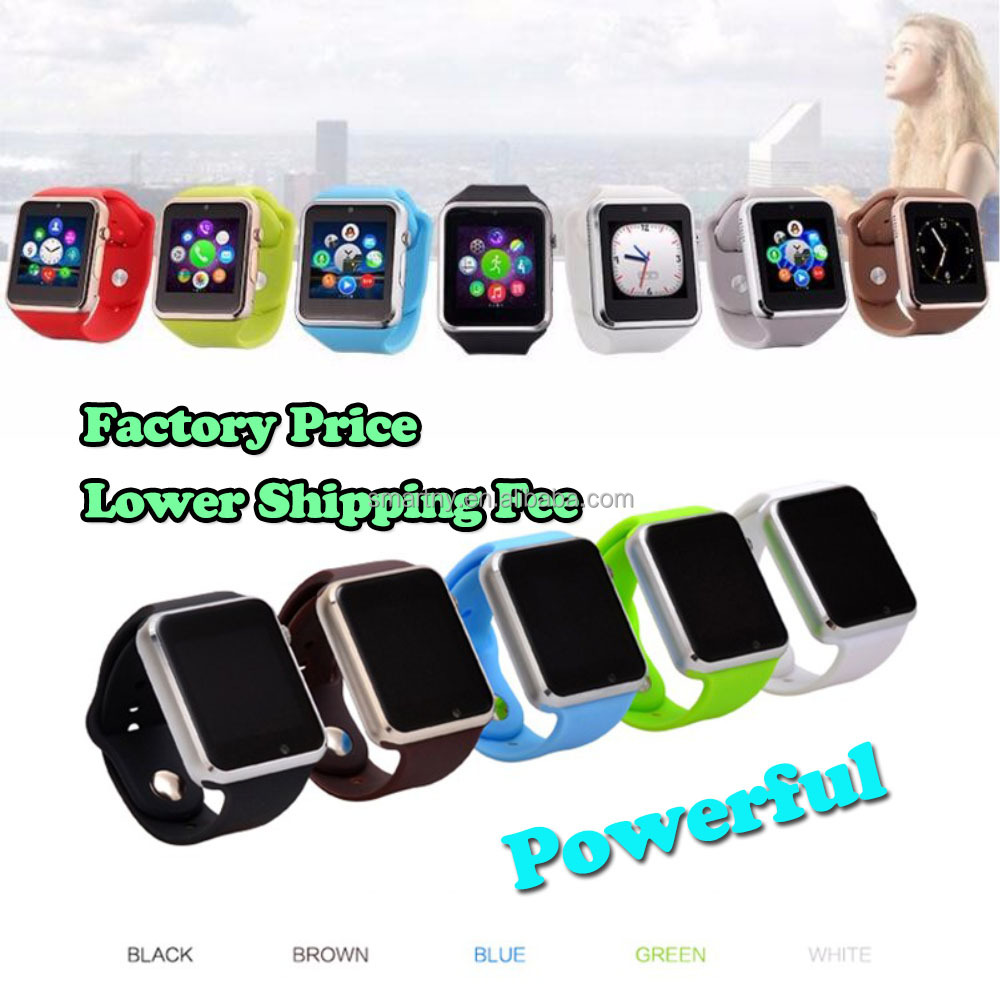 2016 new design colourful smart mobile watch phones