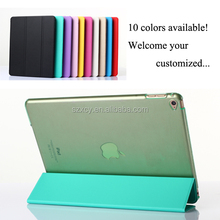 3 folding slim smart magnetic leather cases covers for Apple iPad Air 2