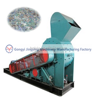 Green glass bottles crusher and glass crusher price