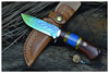 hot sale 8 inch military combat knifes survival knife of damascus knife