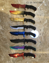cs go huntsman hunting knife fixed blade knife