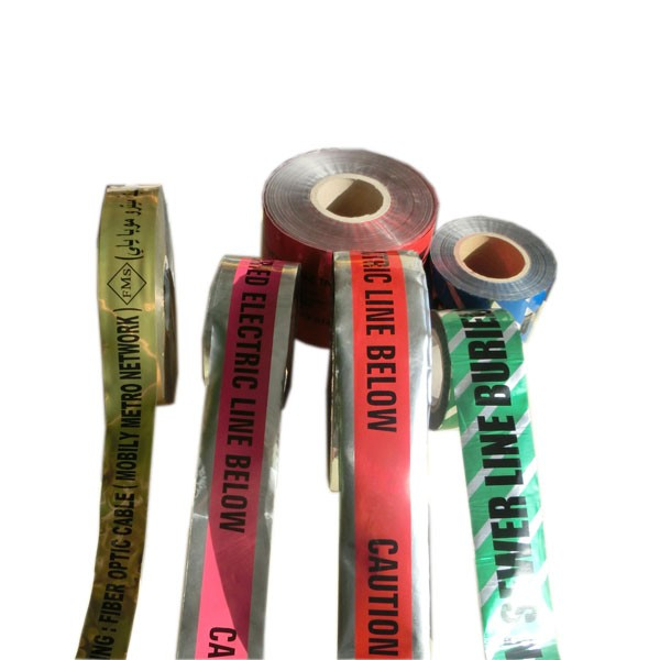 PE Warning Tape colorful reflective Barrier Tape for road safety