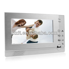 2012 New Arrival Cheap 7 Inch LCD Wide Angel IR Night Vision Wired Video Doorphone Intercom System W/ Photo Taking
