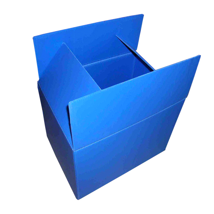 Wholesale Custom Foldable Logistic PP Corrugated Sheet Plastic Box