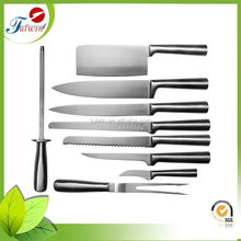 Most selling products stainless steel 9pcs kitchen knife set bulk buy from China