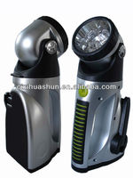 Huashun hand charge torch light with car charger
